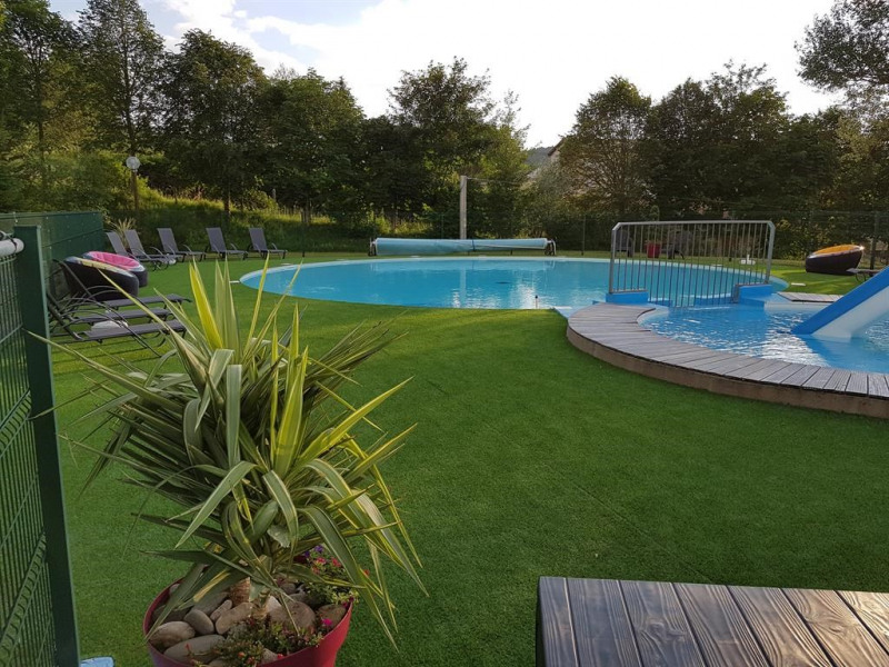 la piscine chauffée juillet et aout