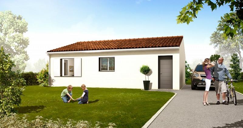 Maison  6 pièces + Terrain 622 m² Saint-Gervais par CONSTRUCTION HORIZONTALE