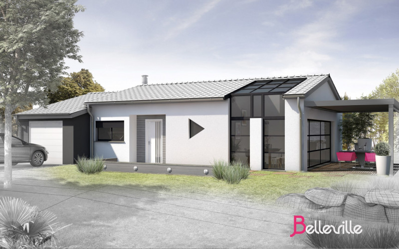 Maison  5 pièces + Terrain 700 m² Giroussens par AMP MAISONS ET PAVILLONS