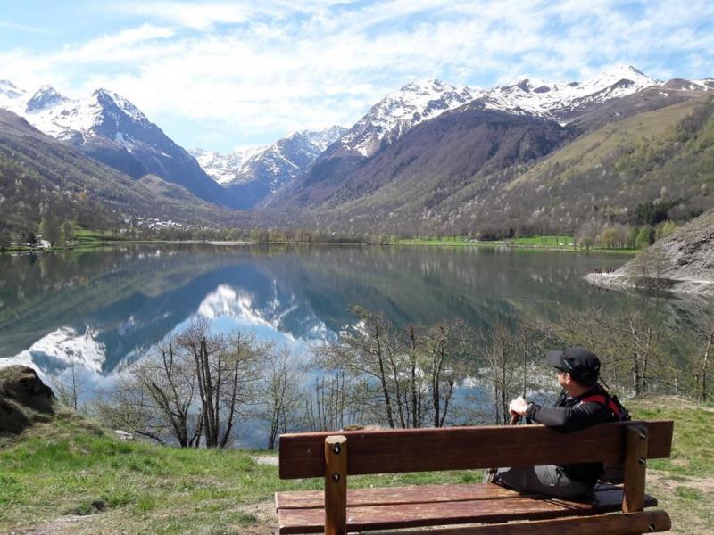 Magnifique vue sur le lac de Génos-Loudenvielle !