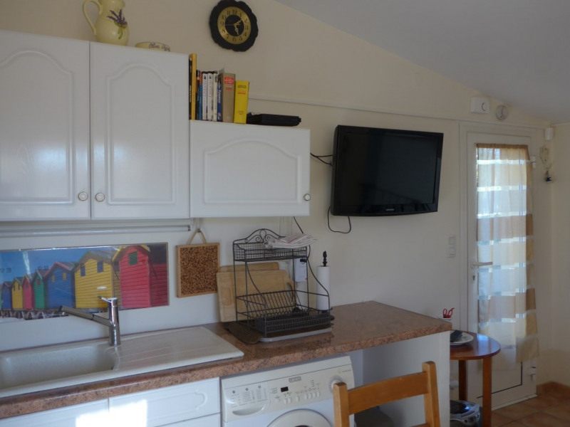 Well equiped open kitchen