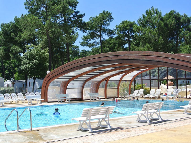 Immobilhome sur Camping 4* à Ronce Les Bains