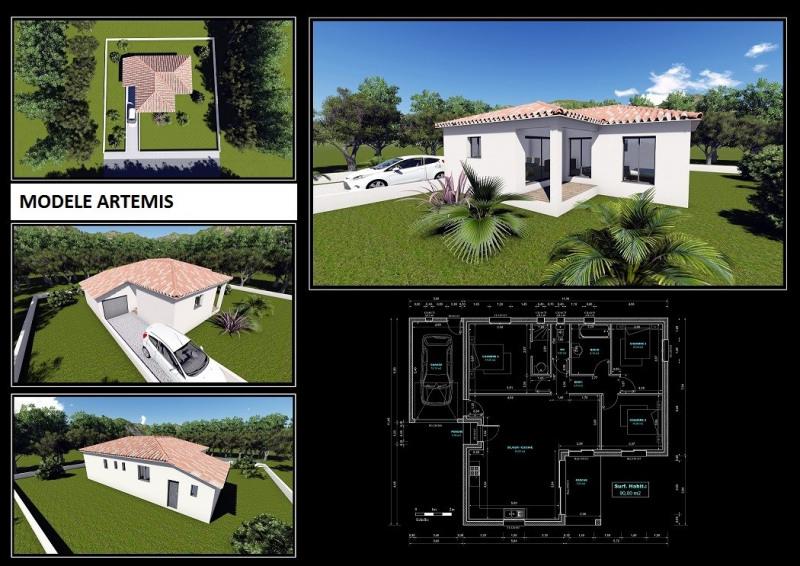 Maison  4 pièces + Terrain 1002 m² Saint-Martin-de-Londres par HOME SUD CONSTRUCTION