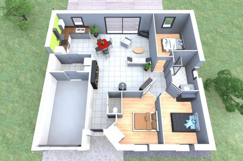 Maison  5 pièces + Terrain 456 m² Saint-Gervais par ALLIANCE CONSTRUCTION CHALLANS