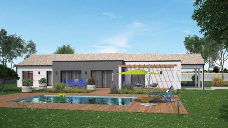 Maison  5 pièces + Terrain 1150 m² Fontaine-le-Comte par Maisons Ericlor
