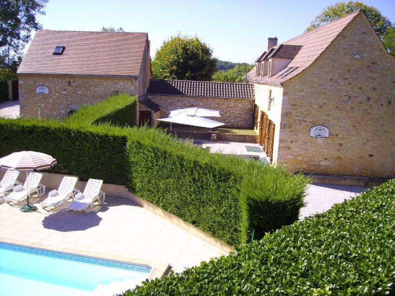 Alquileres de vacaciones Nadaillac-de-Rouge - Casa - 8 personas - Mueble de jardín - Foto N° 1