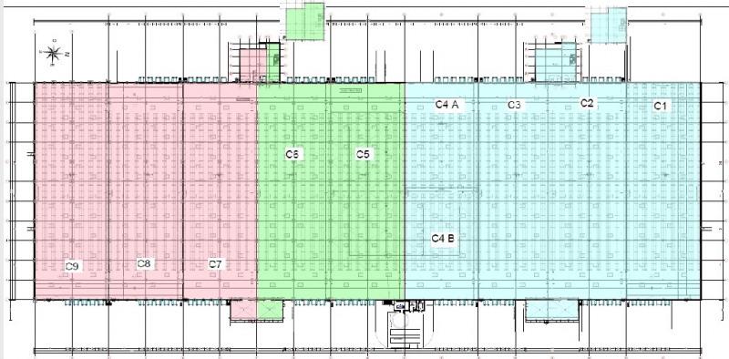 Location Local d'activités / Entrepôt Courthézon
