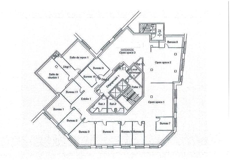 location bureau boulogne billancourt hauts de seine 92 1071 m r f rence n 13010293l. Black Bedroom Furniture Sets. Home Design Ideas