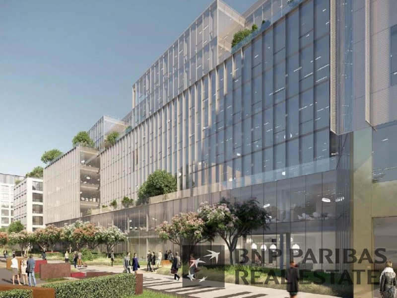 Location bureau bois colombes hauts de seine 92 3950 m²