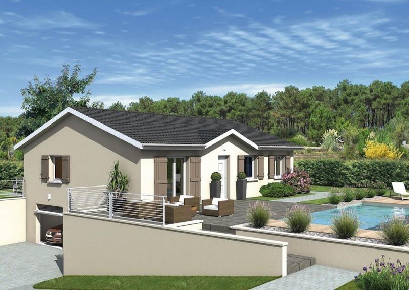 Maison  4 pièces + Terrain 776 m² Saint-Nizier-le-Bouchoux par MAISONS PUNCH