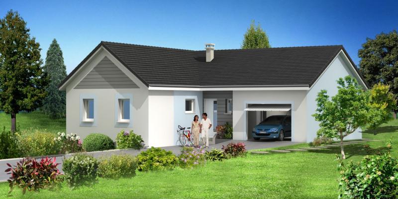 """Modèle de maison  """"Modèle de maison 4 pièces"""" à partir de 4 pièces Haut-Rhin par MAISONS ROCBRUNE"""
