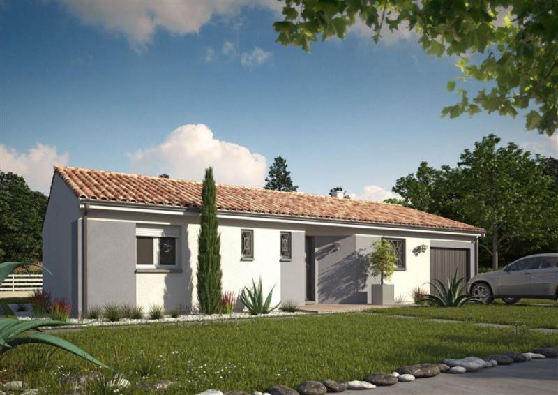Maison  4 pièces + Terrain 500 m² Savignac par MAISONS M.C.A. LIBOURNE