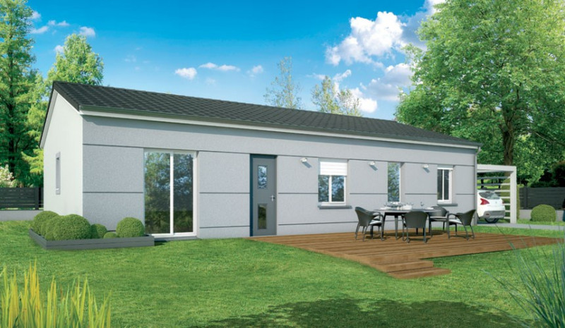 Maison  3 pièces + Terrain 420 m² Lavernose-Lacasse par VILLAS ET MAISONS DE  FRANCE