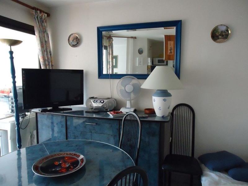 Appartement 2 pièces cabine pour 6 personnes avec loggia et parking.