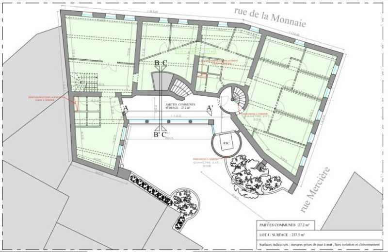 location bureau lyon 2 me rh ne 69 484 m r f rence n. Black Bedroom Furniture Sets. Home Design Ideas