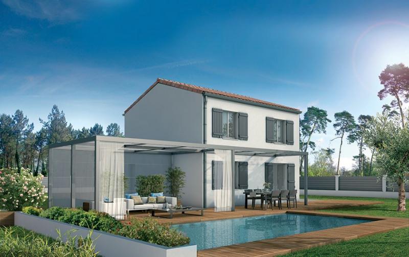Maison  4 pièces + Terrain 903 m² Saint-Aubin-de-Mã©Doc par DEMEURES DAQUITAINE ST AUBIN DE MEDOC