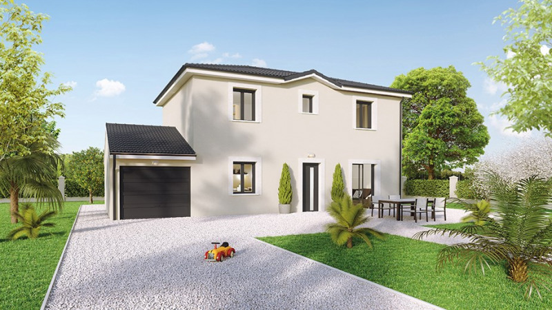 Maison  4 pièces + Terrain 520 m² Neyron par Créa Concept Pusignan