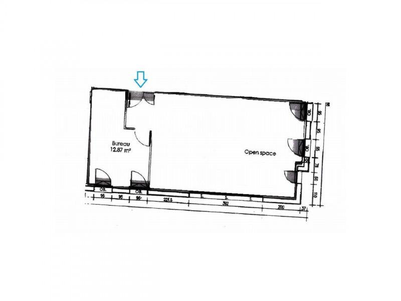 location bureau rennes maurepas patton 35000 bureau rennes maurepas patton de 60 m ref. Black Bedroom Furniture Sets. Home Design Ideas