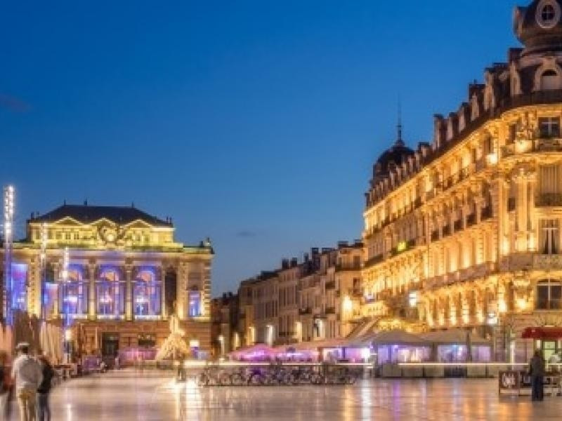 Location vacances Montpellier -  Appartement - 10 personnes - Télévision - Photo N° 1