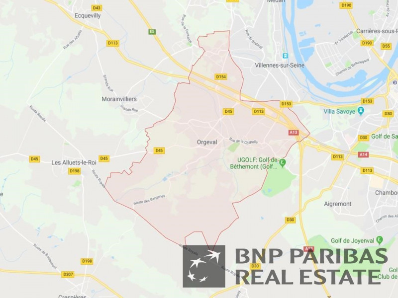Location Local d'activités / Entrepôt Orgeval