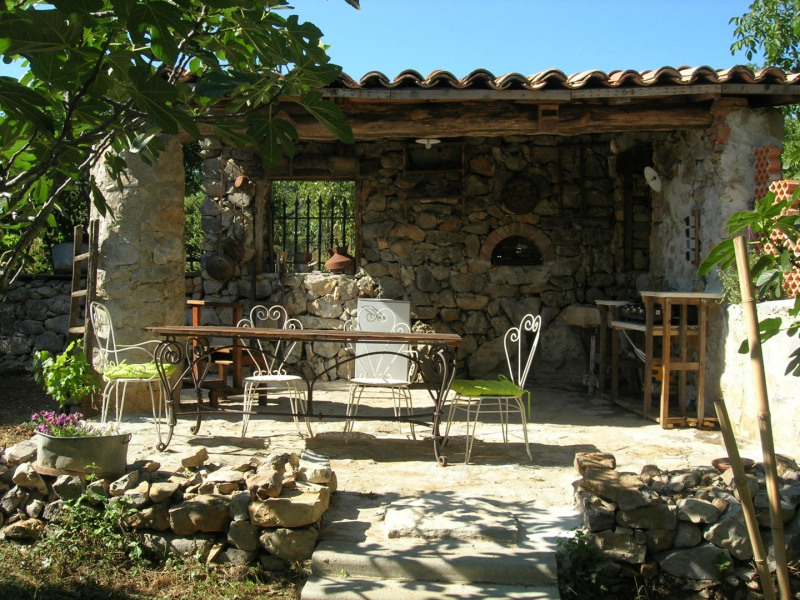 Holiday rentals Les Vans - House - 8 persons - BBQ - Photo N° 1