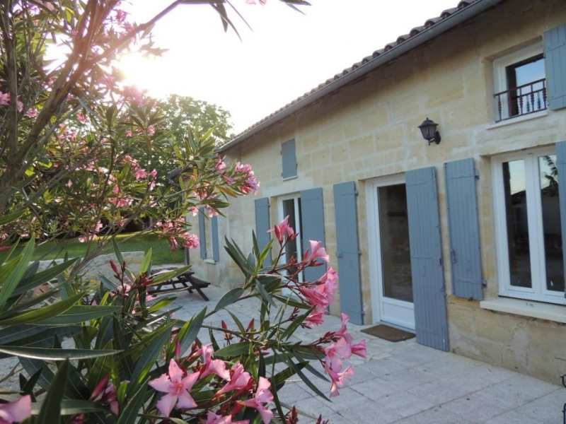 Location vacances Saint-Magne-de-Castillon -  Maison - 8 personnes - Barbecue - Photo N° 1
