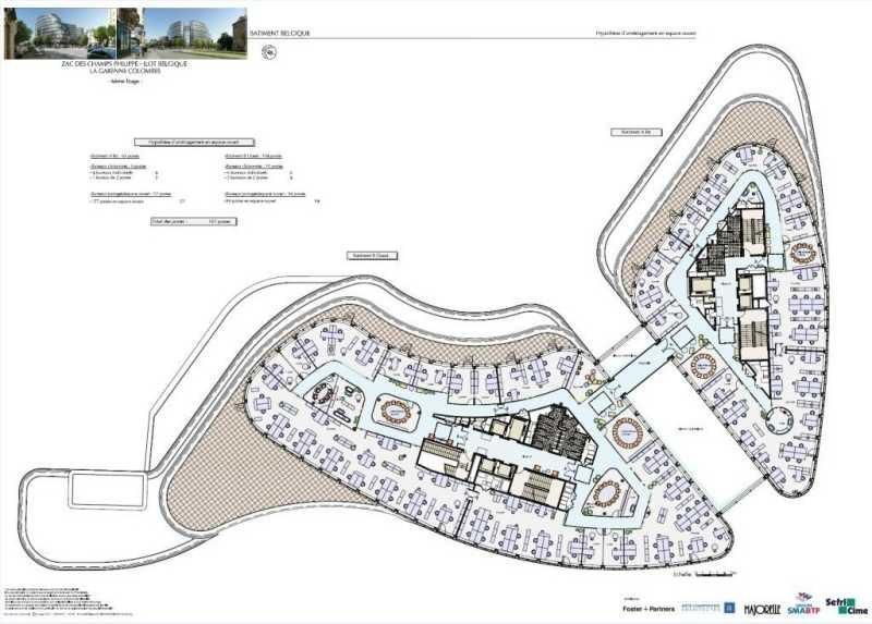 location bureau la garenne colombes chedal anglay 92250. Black Bedroom Furniture Sets. Home Design Ideas