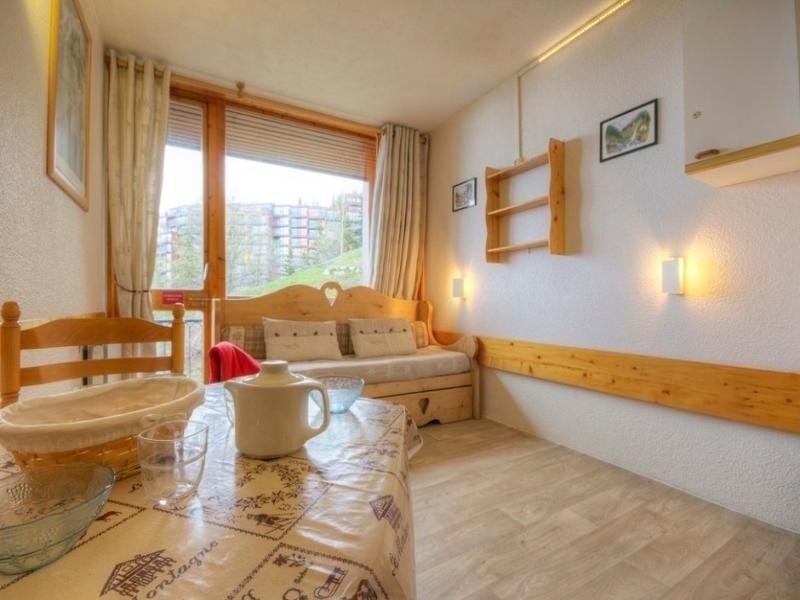 Studio 3 personnes avec balcon, résidence Armoise