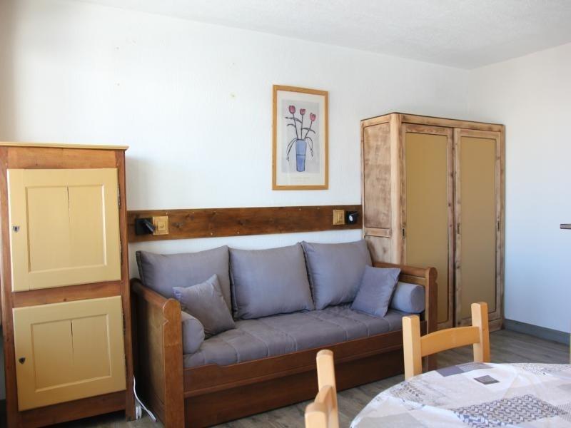studio pour 4 personnes avec balcon ensoileillé
