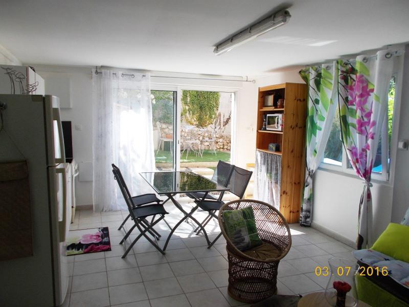 charmant appartement au cœur de la Provence en bordure de Durance avec des vues magnifiques