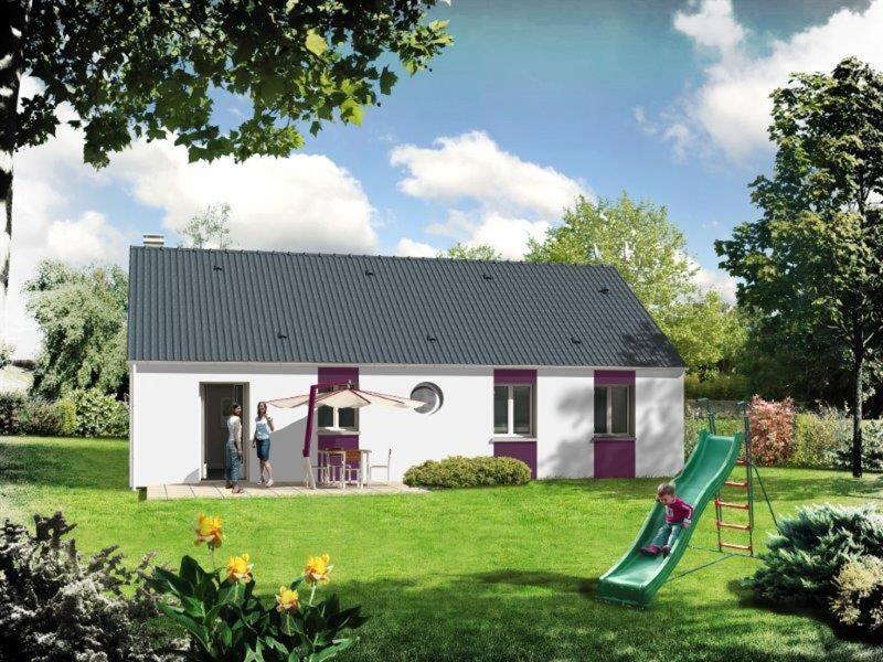 Maison  4 pièces + Terrain 1163 m² Luceau par RESIDENCES INTER
