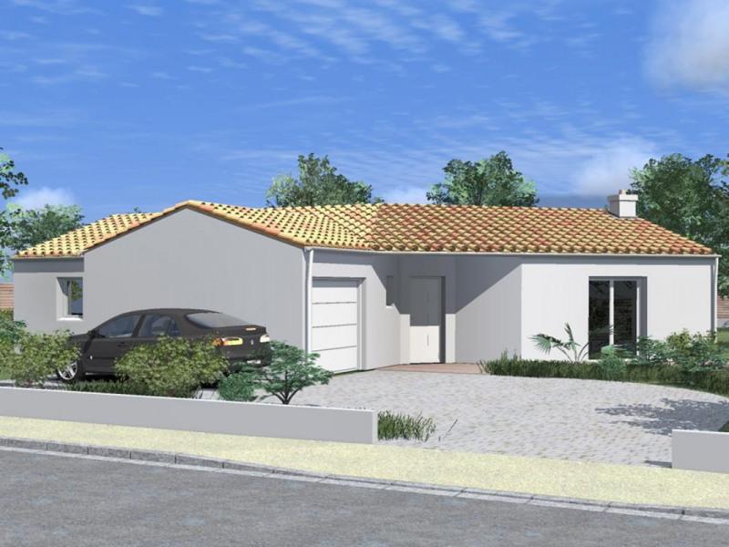 Maison  5 pièces + Terrain 613 m² Treize-Vents par ALLIANCE CONSTRUCTION LES HERBIERS