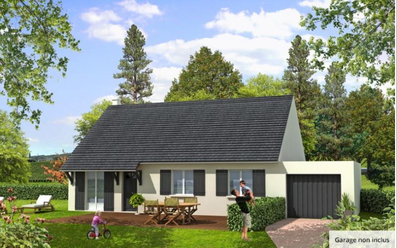 Maison  3 pièces + Terrain 837 m² Nanteuil-le-Haudouin par MAISONS BARILLEAU