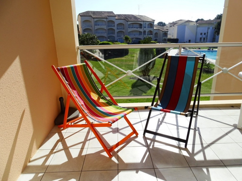 Location vacances Moliets-et-Maa -  Appartement - 6 personnes - Chaise longue - Photo N° 1