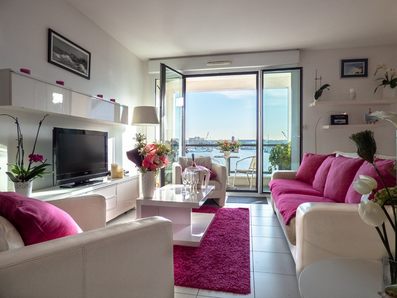 Location vacances Saint-Malo -  Appartement - 5 personnes - Salon de jardin - Photo N° 1