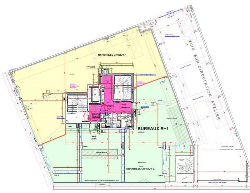 Location Bureau Lyon 7ème