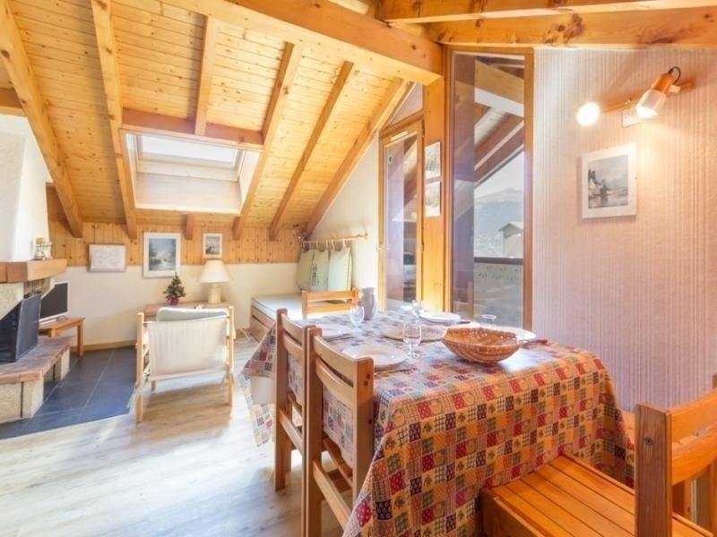 Appartement 6 personnes, vue Mont Blanc