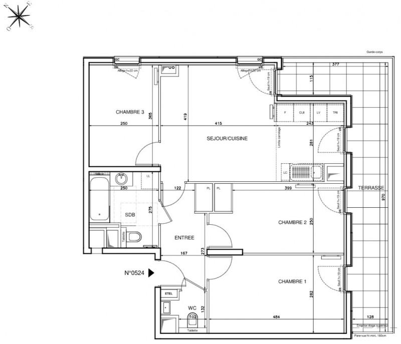 Vente Appartement 4 Pieces Clichy Appartement F4 T4 4