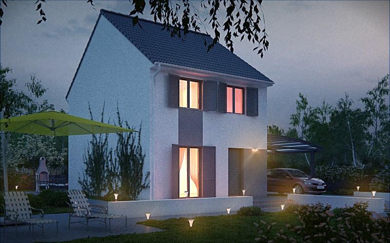 Maison  4 pièces + Terrain 299 m² Bondy par MAISONS PIERRE