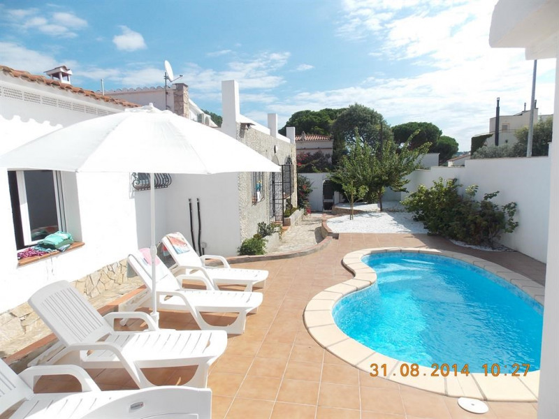 Holiday rentals l'Escala - House - 7 persons - BBQ - Photo N° 1