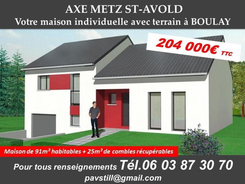 Maison  5 pièces + Terrain Metz par PAVILLONS STILL LORRAINE