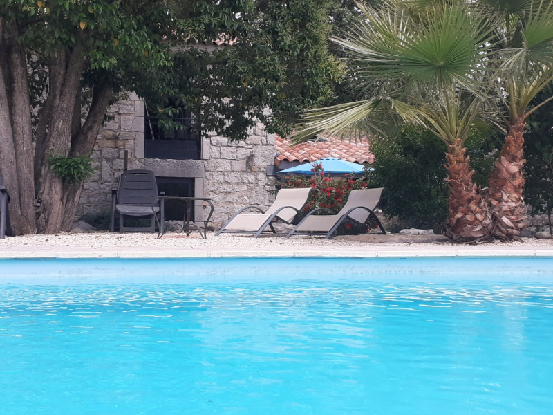 Location vacances Ruoms -  Maison - 6 personnes - Barbecue - Photo N° 1