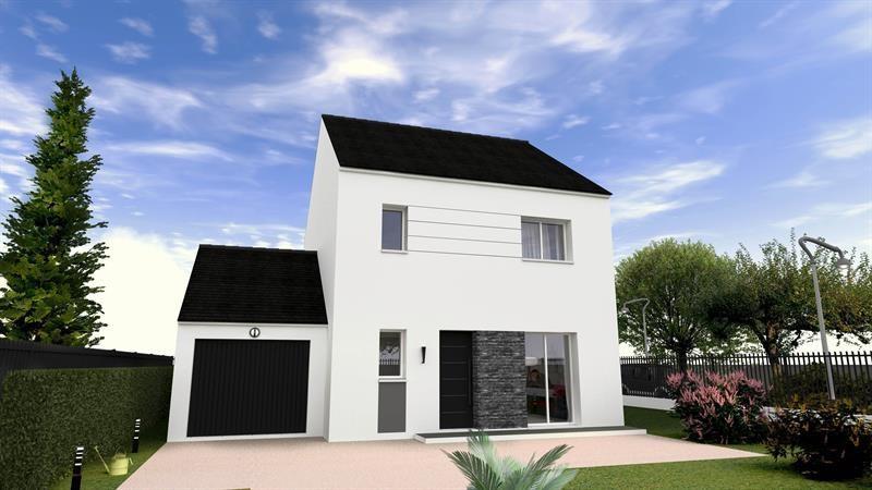 """Modèle de maison  """"Abbesses 96"""" à partir de 4 pièces Yvelines par MAISONS BERVAL – DIRECTION COMMERCIALE"""