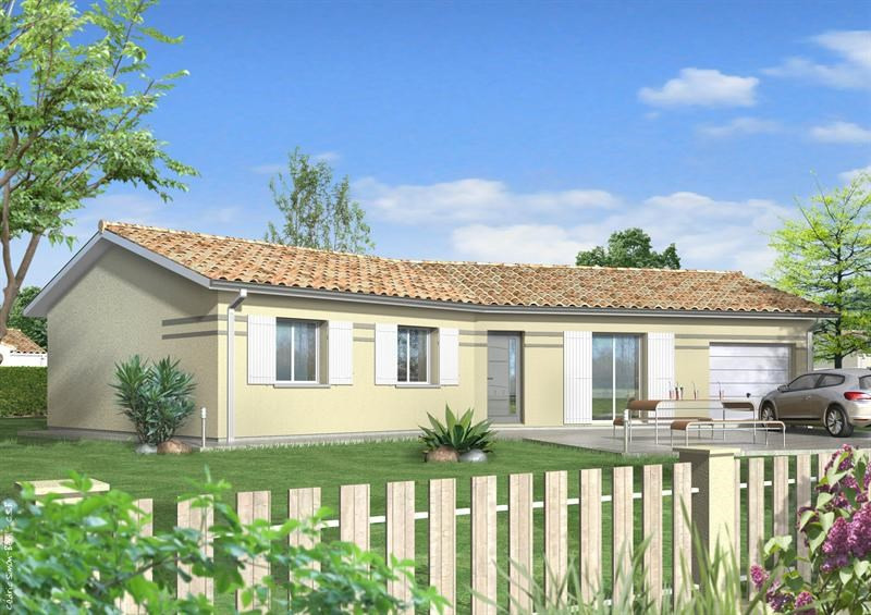 Maison  5 pièces + Terrain 1500 m² Nogaro par LES MAISONS LCA MONT DE MARSAN