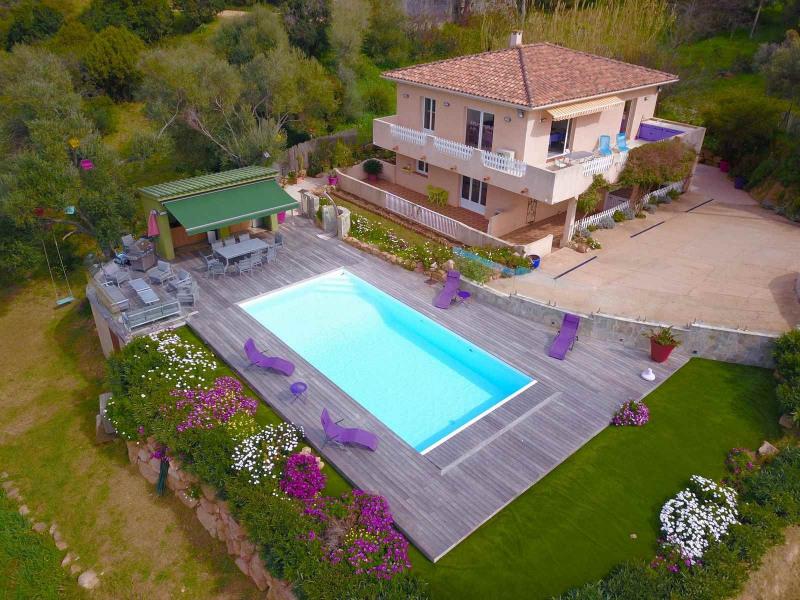 Location vacances Pietrosella -  Maison - 12 personnes - Barbecue - Photo N° 1