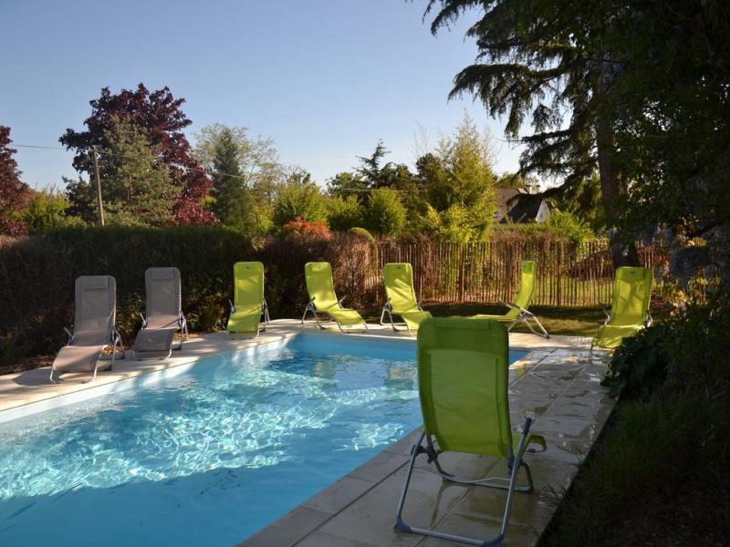 Gîte de groupe avec piscine et SPA à Blois