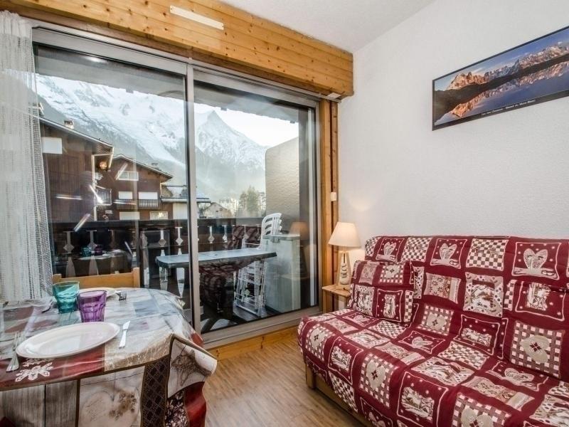 Studio 2/3 pers. pied des pistes, proche centre, vue Mt Blanc