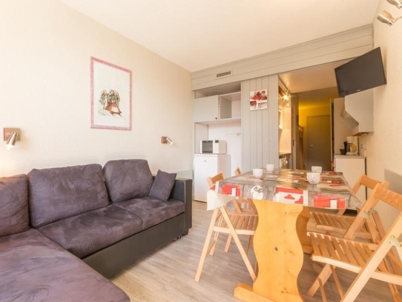Studio 4 personnes avec balcon, résidence Belles Challes