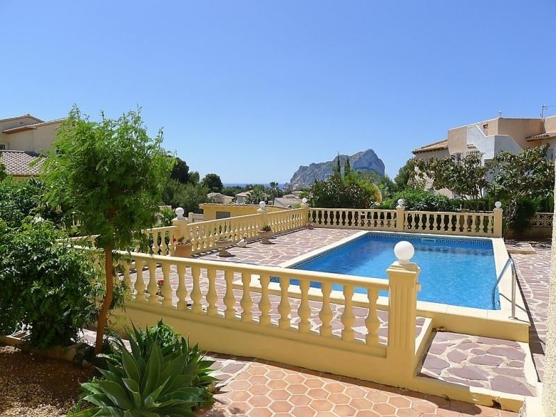 Location vacances Calp -  Maison - 4 personnes - Barbecue - Photo N° 1