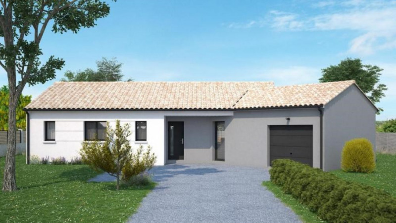Maison  4 pièces + Terrain 720 m² Fontaine-le-Comte par Maisons Ericlor
